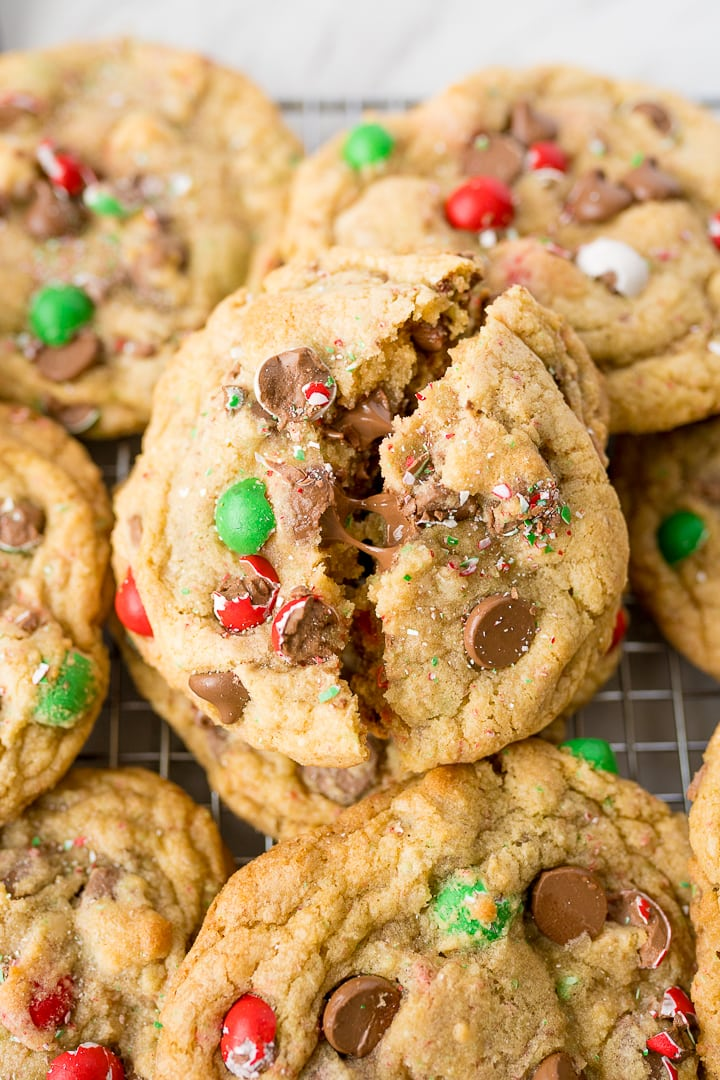 Christmas Crumbl Cookie recipe