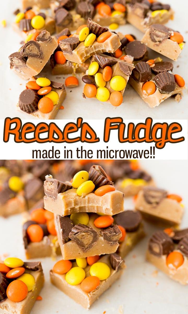 pin image for Reeses fudge
