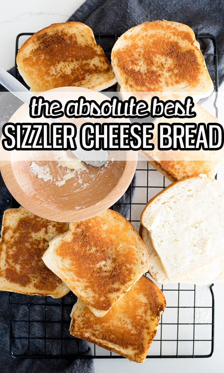 sizzler cheese bread pin image