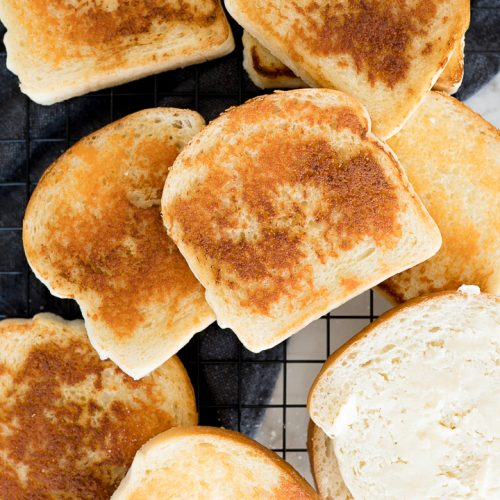 crispy cheese bread recipe