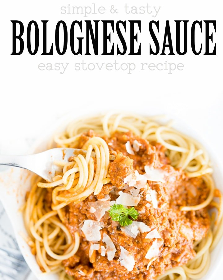 pin image for bolognese sauce