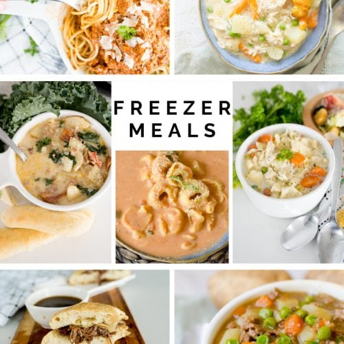 pictures of the freezer meals listed in this article.