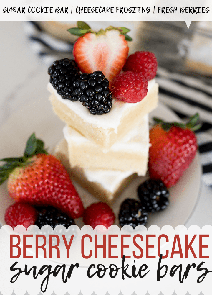 Pin image for berry cheesecake bars