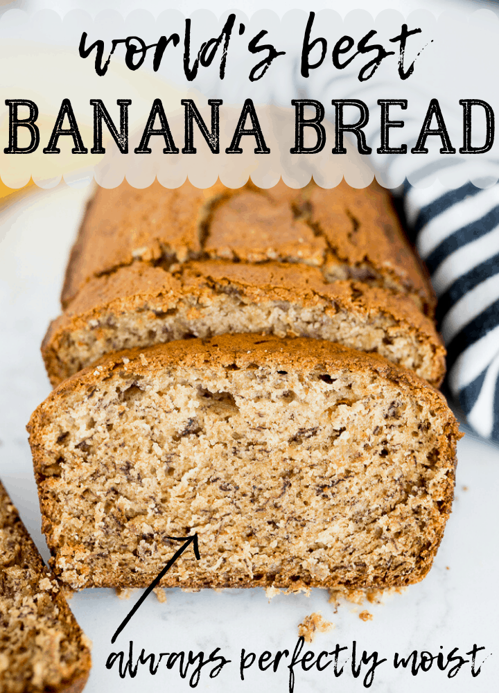 pin image for best banana bread recipe