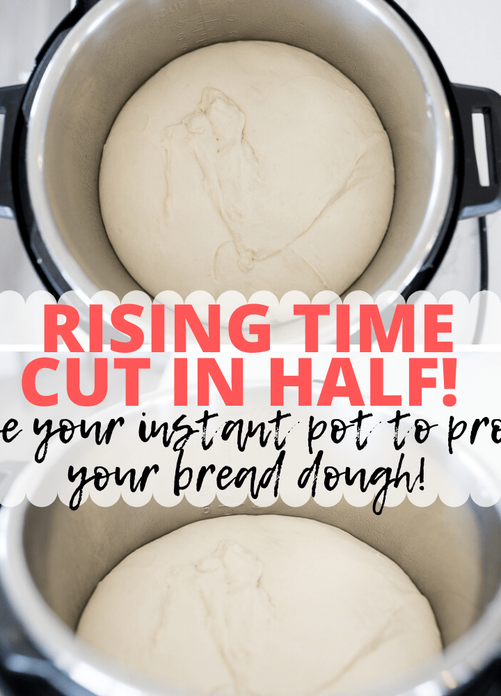 pin image for proofing bread dough in Instant Pot