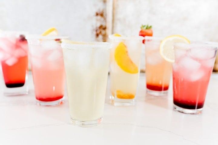 homemade lemonade flavors