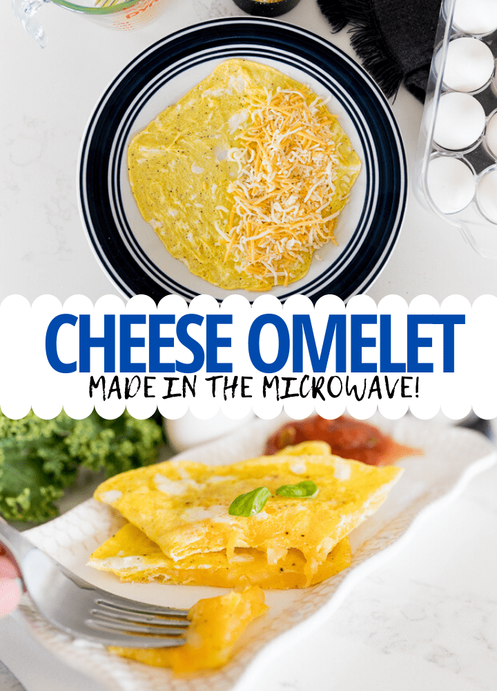 pin image for microwave omelet