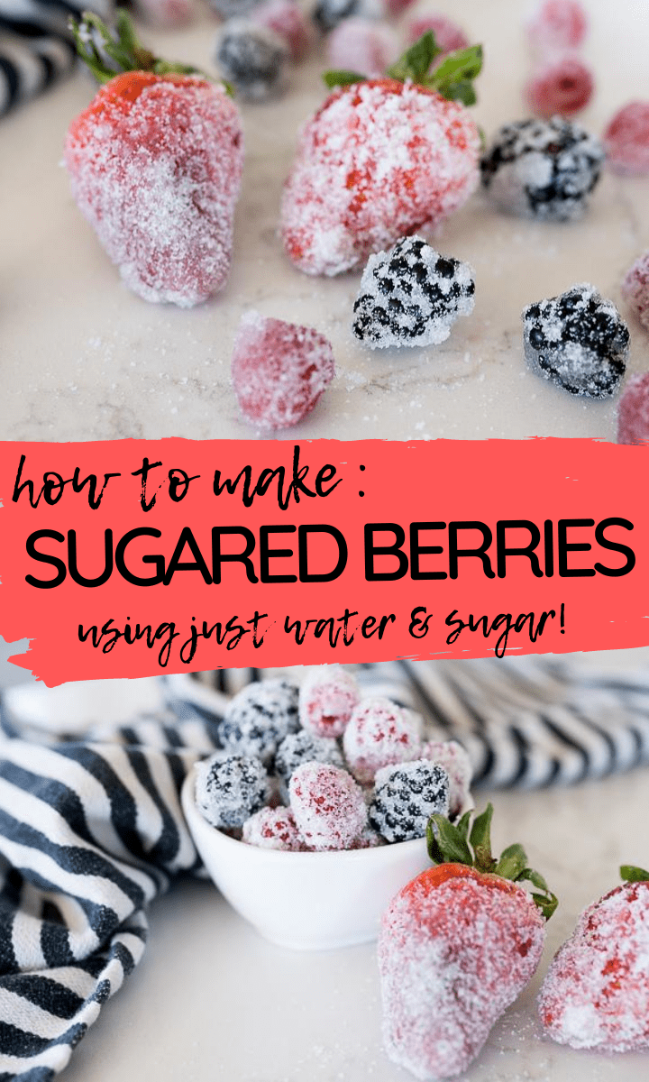 pin image for sugared berries