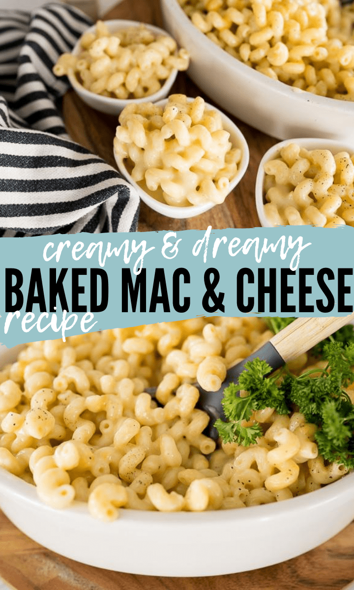 PIN IMAGE FOR BAKED MAC AND CHEESE