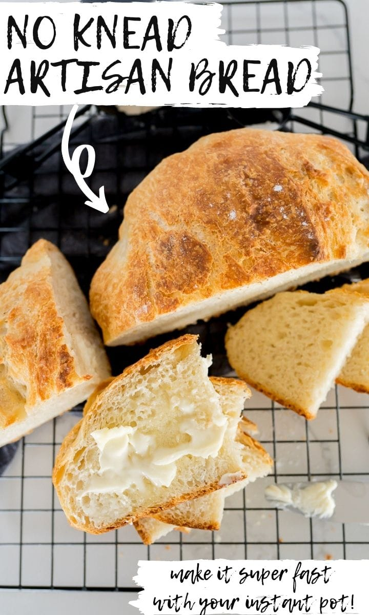 pin image for artisan bread