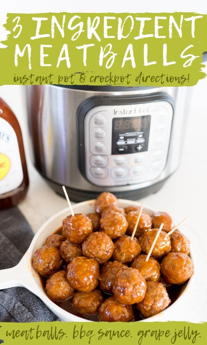 pin image for grape jelly meatballs