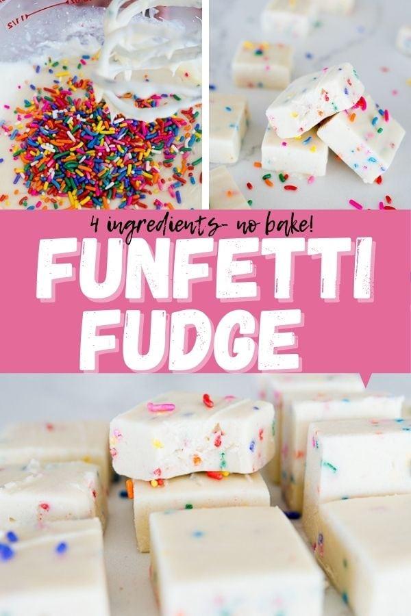 pin image for Funfetti fudge