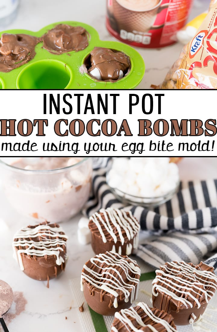 pin image for hot chocolate bombs