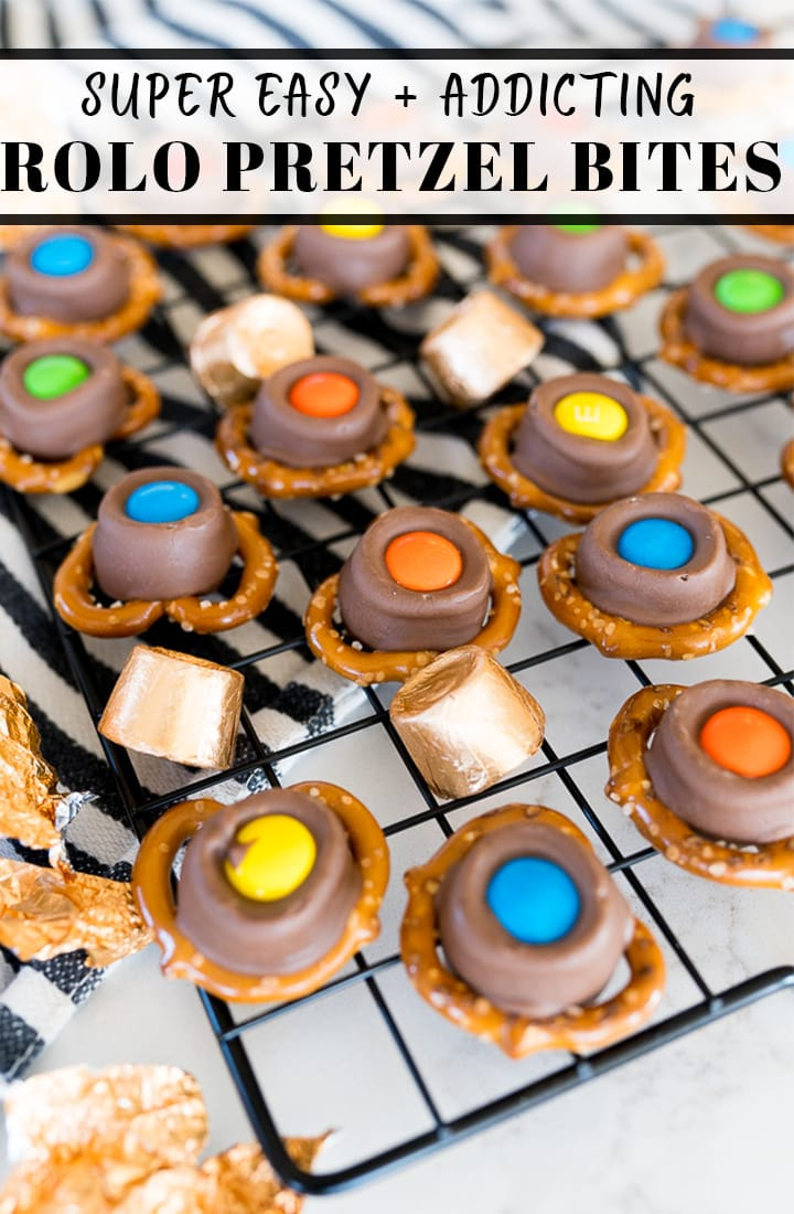 pin image for rolo pretzel bites