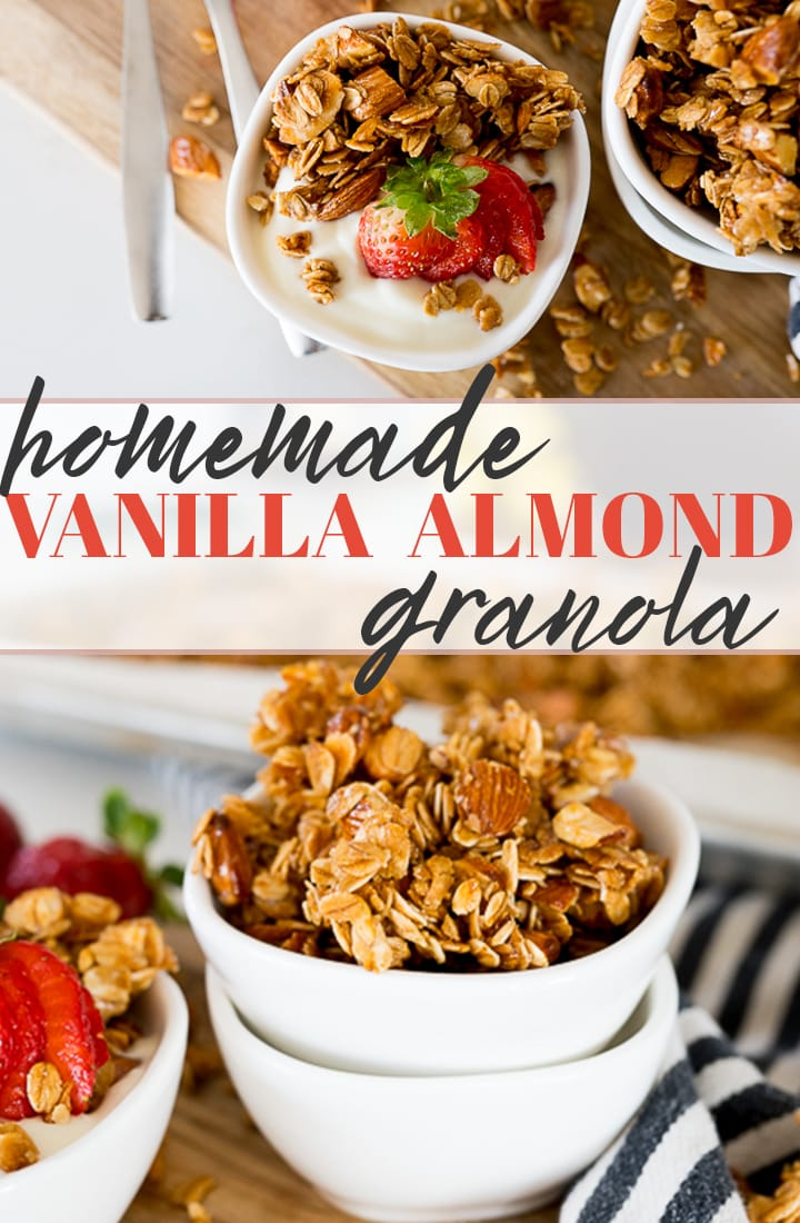 pin image for granola