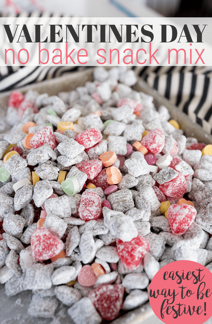 pin image for valentines snack mix