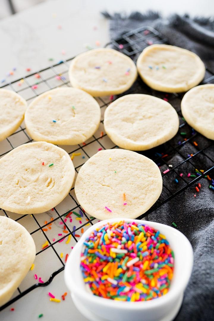 slice and bake sugar cookies with sprinkles
