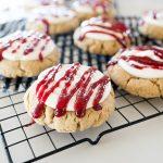 Copycat Recipe for Raspberry Cheesecake cookie