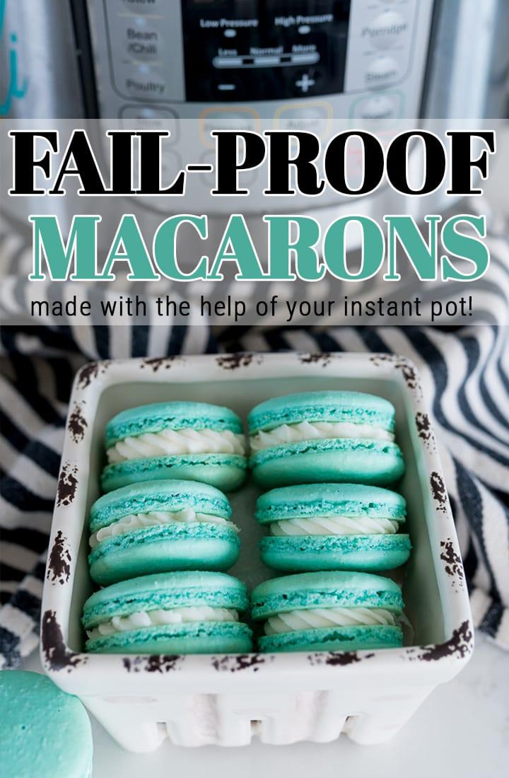 pin image for macarons