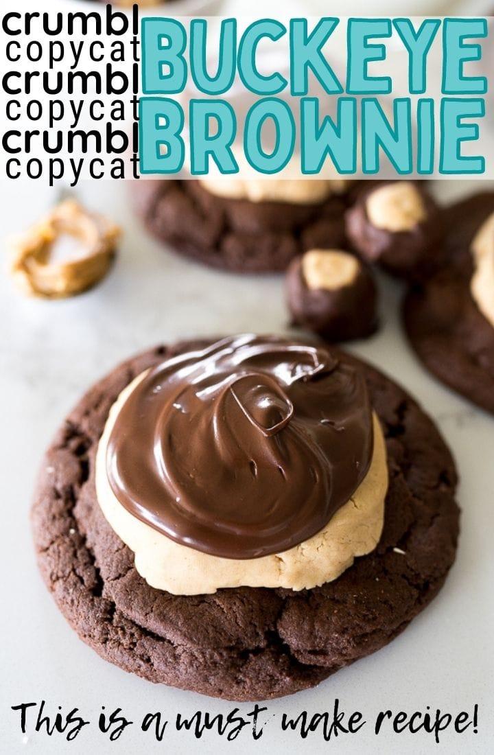 pin image for buckeye brownie cookie